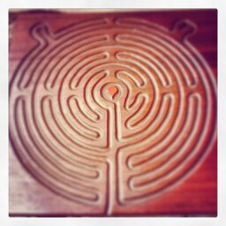 Birthing From Within - Finger Labyrinth Glastonbury